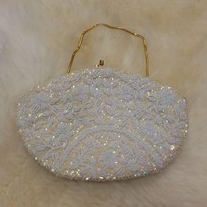 Vintage Safco beaded handbag